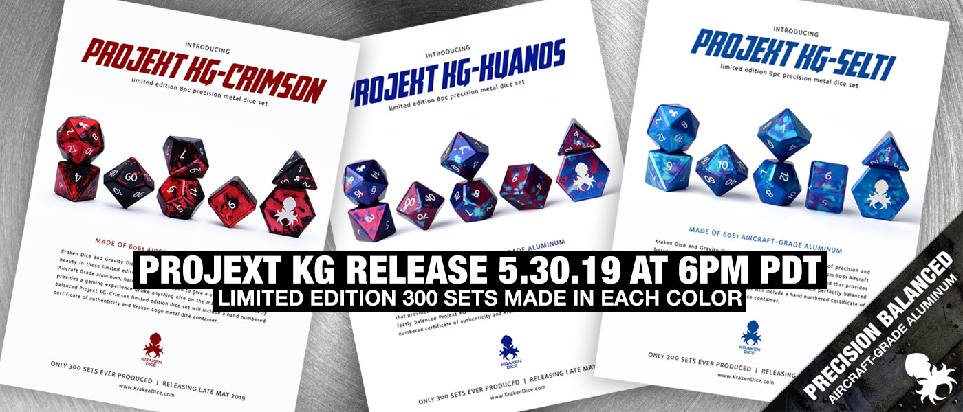 Kraken Dice | RPG dice for Dungeons and Dragons