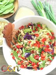 Loaded Veggis Asian Salad