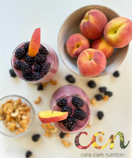 Blackberry Peach Bliss Smoothie