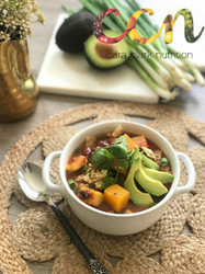Butternut Squash Crock-Pot Chili