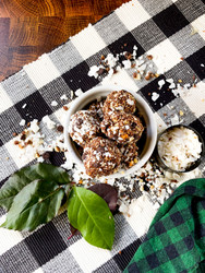 ​Peppermint Patty Protein Balls