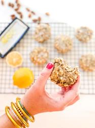 Lemon Chia Breakfast Cookies