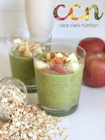 Cinnamon Apple Oat Smoothie