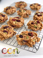 Cranberry Sweet Potato Breakfast Cookies