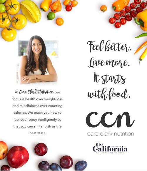 Healthy Miss California