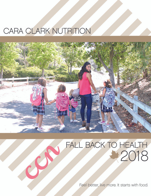 Fall Back to Health PLUS the SNACK Book Bundle