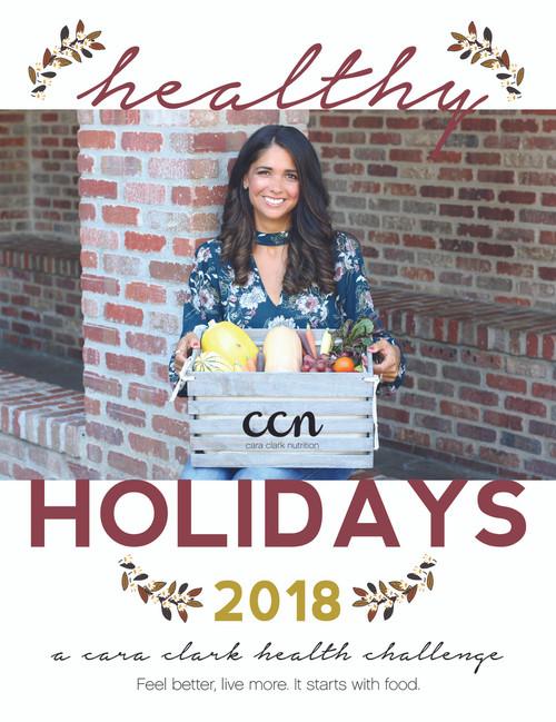 Healthy Holiday Challenge 2018 PLUS Dessert Book