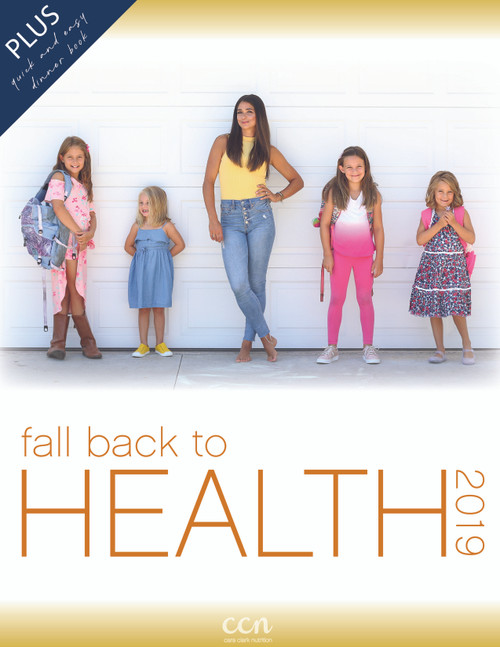 Fall Back to Health 2019 PLUS Quick Dinners Book