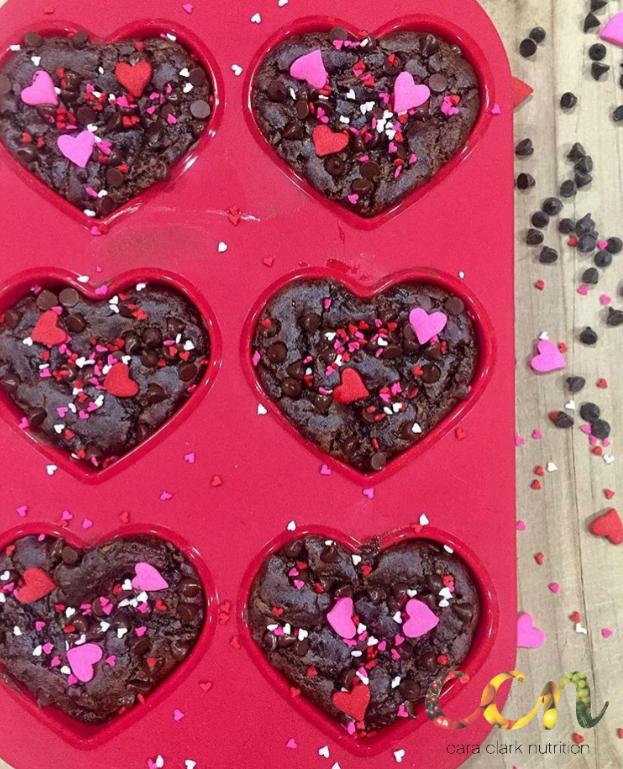 Blender Dark Chocolate Zucchini Muffins