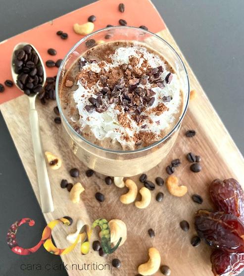 Coffee Cashew Cacao Smoothie