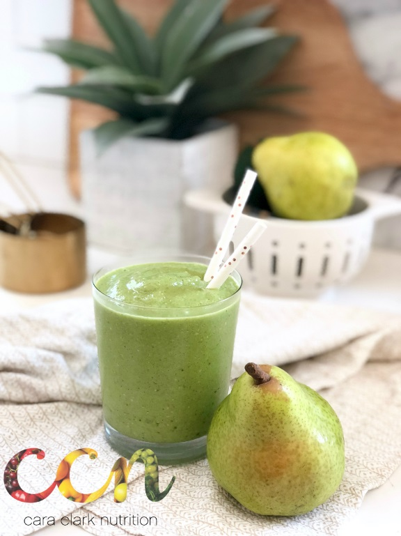 Gingery Pear Smoothie
