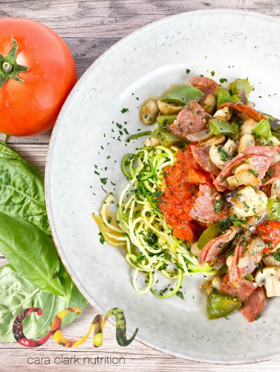 Pizza Zoodles