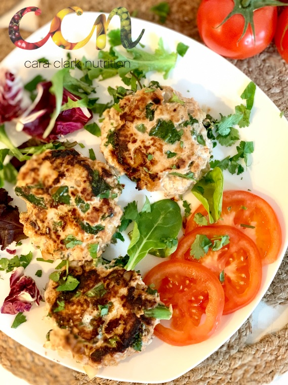 Turkey Kale Burgers
