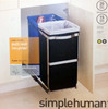 simplehuman 35 Litre Pull-Out Duo kitchen recycling bin