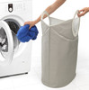 Brabantia Portable Laundry Basket and Bag Grey