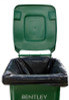 240ltr Large Black Superior Recycled Wheelie Bin Liners  (13 Liners per Roll)