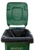 240ltr Large Black Superior Degradable Wheelie Bin Liners (Rolls of 13)