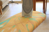 Laundry Company Orange Shards Replacement Ironing Board Cotton Cover Size 2
