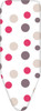 Laundry Company Purple Spots Replacement Ironing Board Cotton Cover Size 4