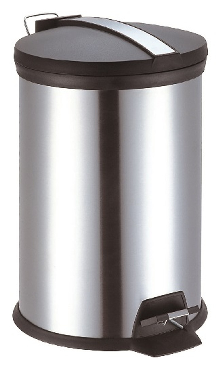 Trenvo 5 Litre Bathroom Stainless Steel Pedal Bin Laundry Company