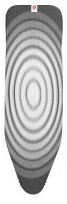 Brabantia Titan Oval Replacement Ironing Board Cotton Cover 2mm Foam Underlay Size D - Top Layer