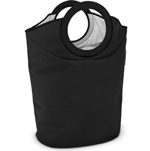 Brabantia Portable Laundry Basket and Bag Black