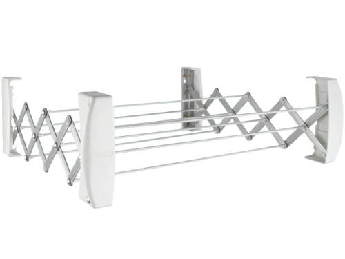Leifheit Teleclip 42 Extendable Wall Mounted Clothes Airer (formerly 60)