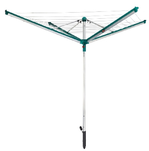 Leifheit Linomatic 500 Deluxe Outdoor Rotary Clothes Airer