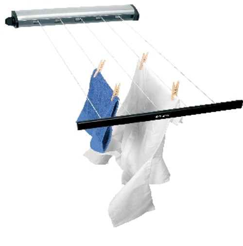 Brabantia Brushed Stainless Steel Pullout Clothes Line Airer