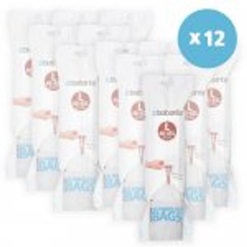 Brabantia Size L SmartFix Perfect Fit Bin Liners 45 Litre 120 Bags Dispenser Pack