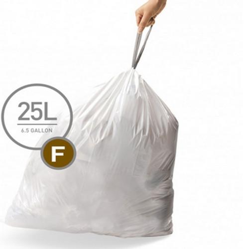 simplehuman SureFit Perfect Fit Bin Liners Size F