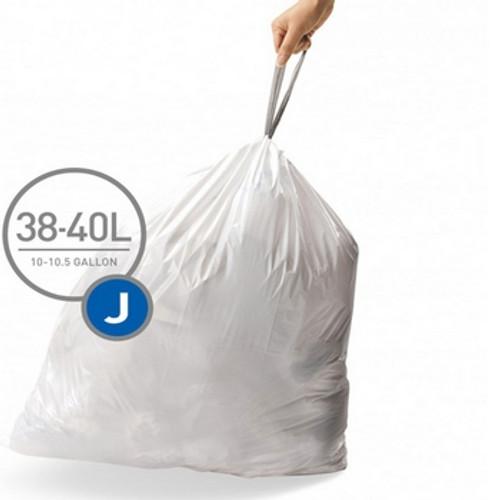 simplehuman SureFit Perfect Fit Bin Liners Size J