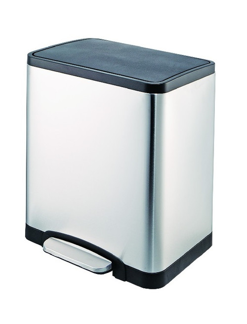 Brenvo 30 Litre Duo Stainless Steel Pedal Bin