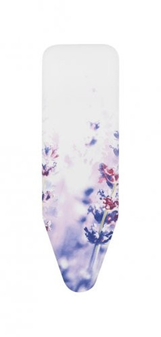 Brabantia Lavender Replacement Ironing Board Cotton Cover 8mm Felt and Foam Underlay Size D