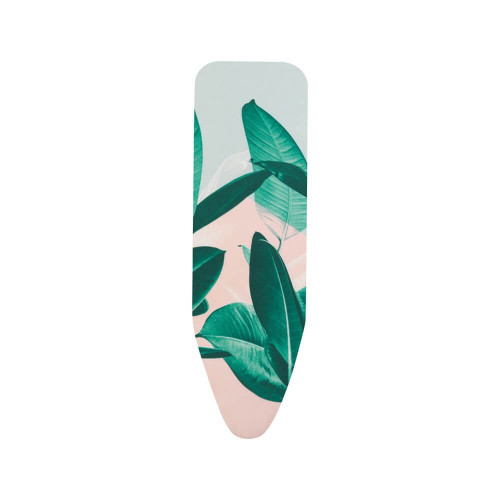 Brabantia Tropical Leaves Replacement Ironing Board Cotton Cover 4mm Foam Underlay Size C