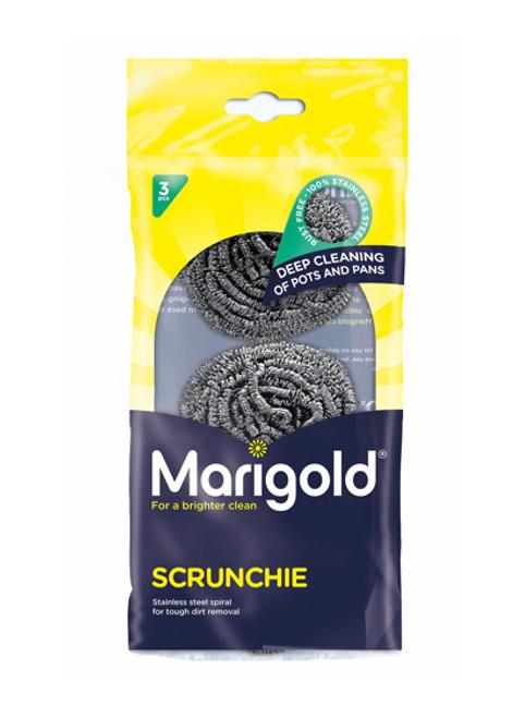 Marigold Heavy Duty Scrunchie - 3 pack