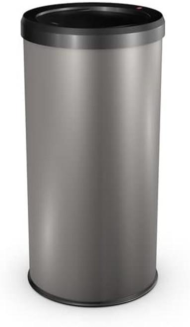 Hailo 0845-290 Pearl Grey Touch Big Bin - 45 Litre