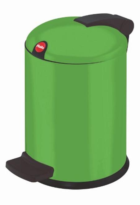 Hailo 0704-549 Trento Design 4 Cosmetic Pedal Bin Green