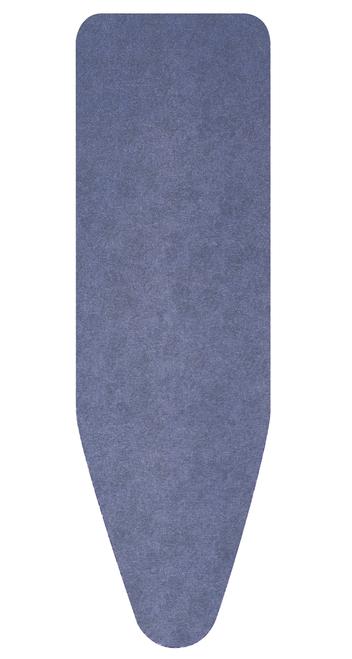 Brabantia Denim Blue Replacement Ironing Board Cotton Cover 2mm Foam Underlay Size E