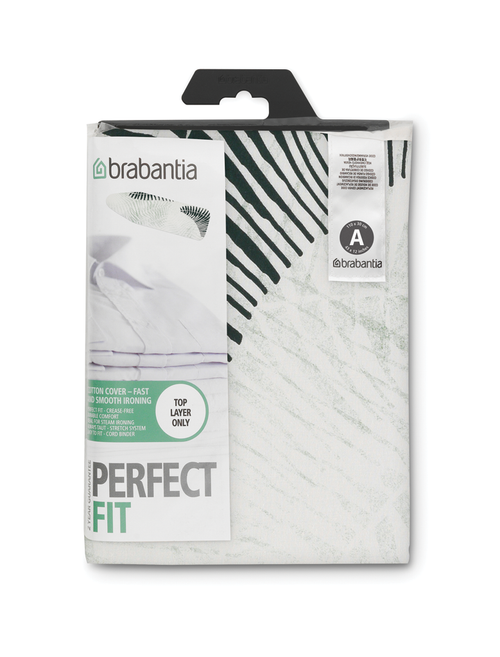 Brabantia Fern Shades Replacement Ironing Board Cotton Cover 2mm Foam Underlay Size A
