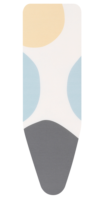 Brabantia Spring Bubbles Replacement Ironing Board Cotton Cover 2mm Foam Underlay Size A