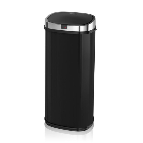Morphy Richards 50L Square Sensor Bin Black