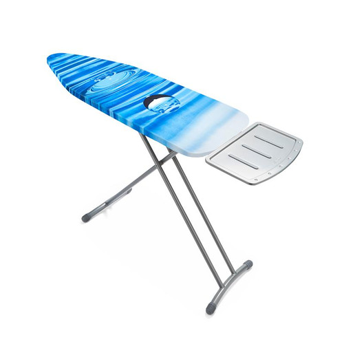 Tower Medium Mesh Ironing Board Silver with Water Drop Cover
