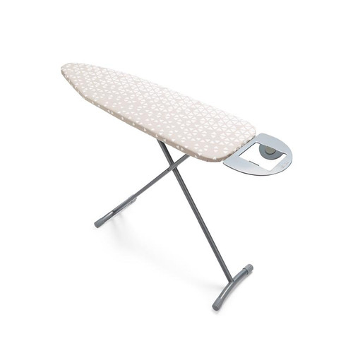 Tower Small Ironing Board Silver with Geo Cover