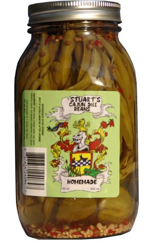 Stuart's Cajun Dill Beans - Quart