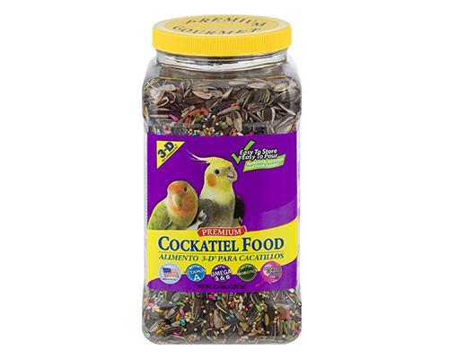 3-D Premium Cockatiel Food • 4.5 lb