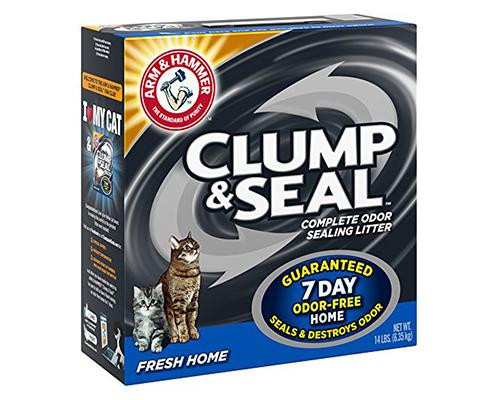 Clump & Seal Complete Odor Litter - Fresh Home • 14 lb