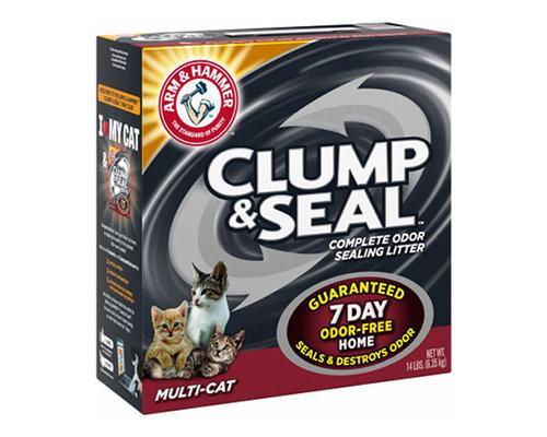Clump & Seal Complete Odor Sealing Litter - Multi Cat • 14 lb