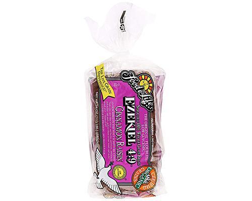 Food for Life Ezekiel 4:9 Cinnamon Raisin Bread • 24 oz
