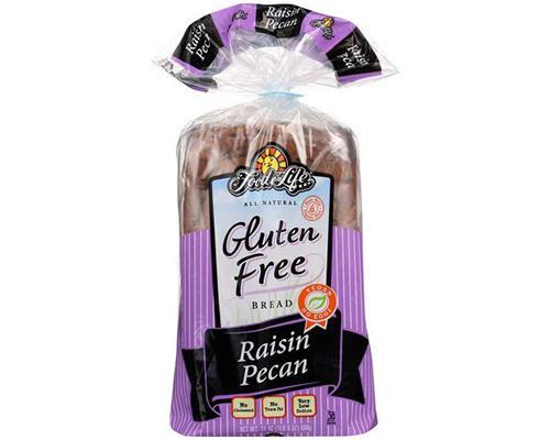 Food for Life Gluten Free Raisin Pecan Bread • 24 oz